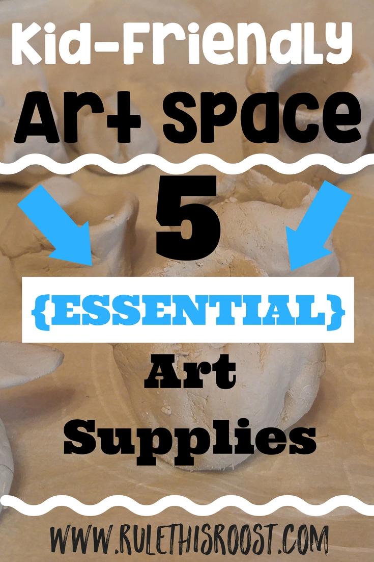 art materials kid space