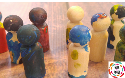 Diy bird feeder your kids can make rule this roost martin luther king day peg doll painting for kids this adorable craft will teach kids fandeluxe Images