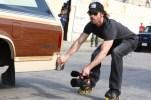 Ghost Rider Spirit of Vengeance rollerblade rollerskate camera