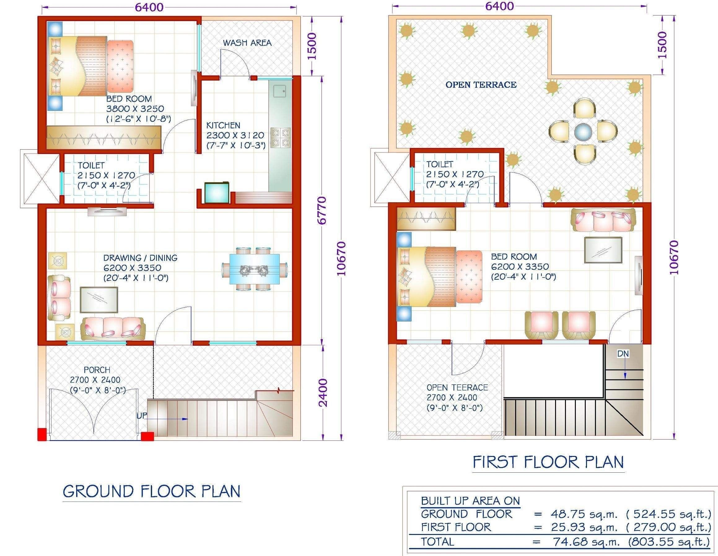 West Facing House 800 Sq Ft House House Plans 3 Bedroom Duplex House