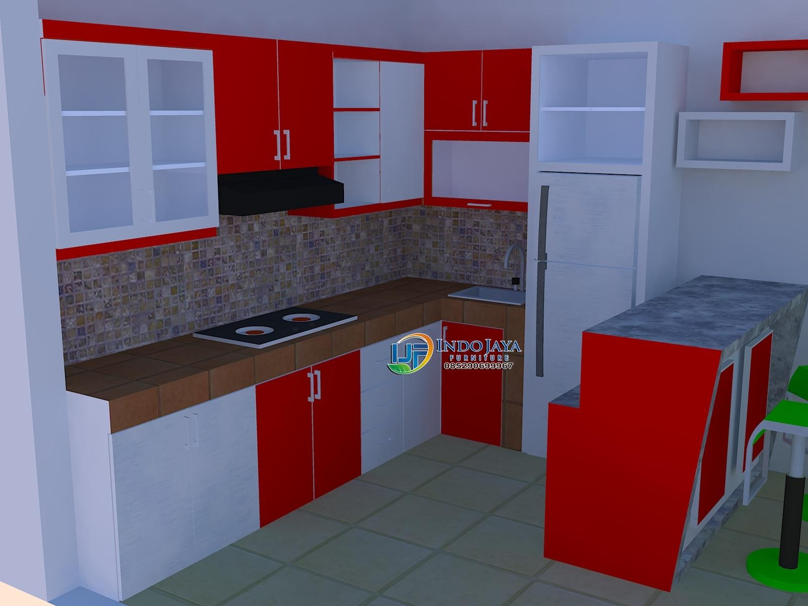 Kitchen Dapur Minimalis Modern Kitchen Set Murah Lemari