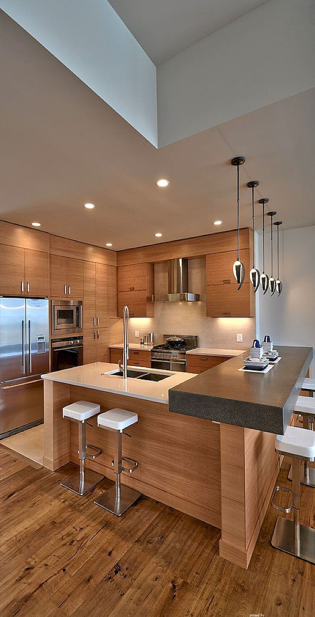 Modern kitchens use clever design and sleek styles to create an impressive space to cook eat and entertain 45 Most Popular Kitchen Design Ideas on 2018