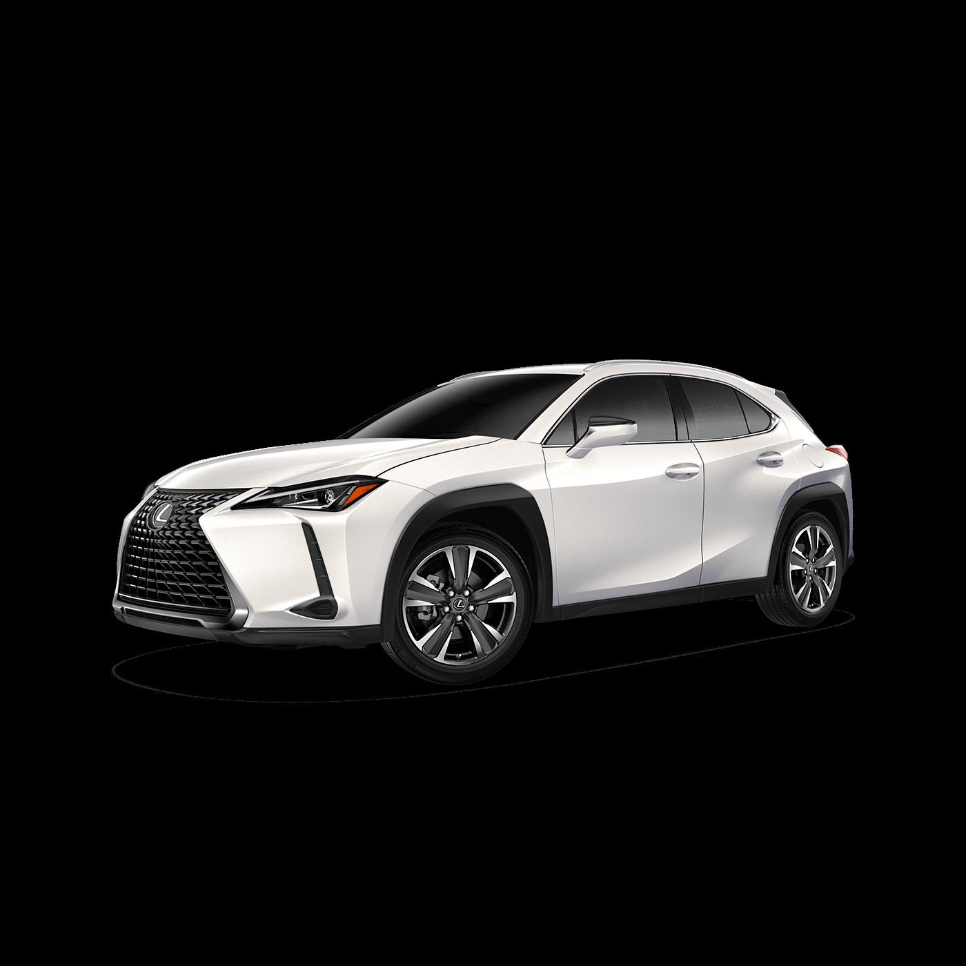 2019 Lexus UX shown in Eminent White Pearl