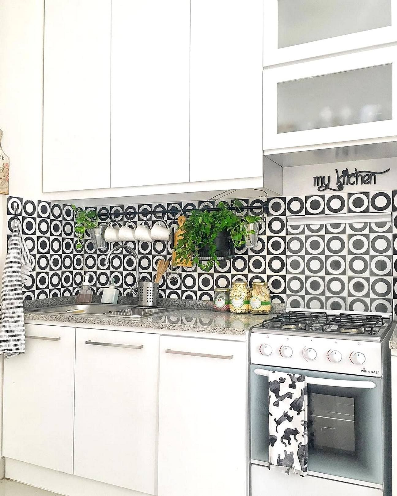 Model Motif Keramik Dapur Kitchen Sets Kitchen Layout Kitchen Storage Kitchen Design
