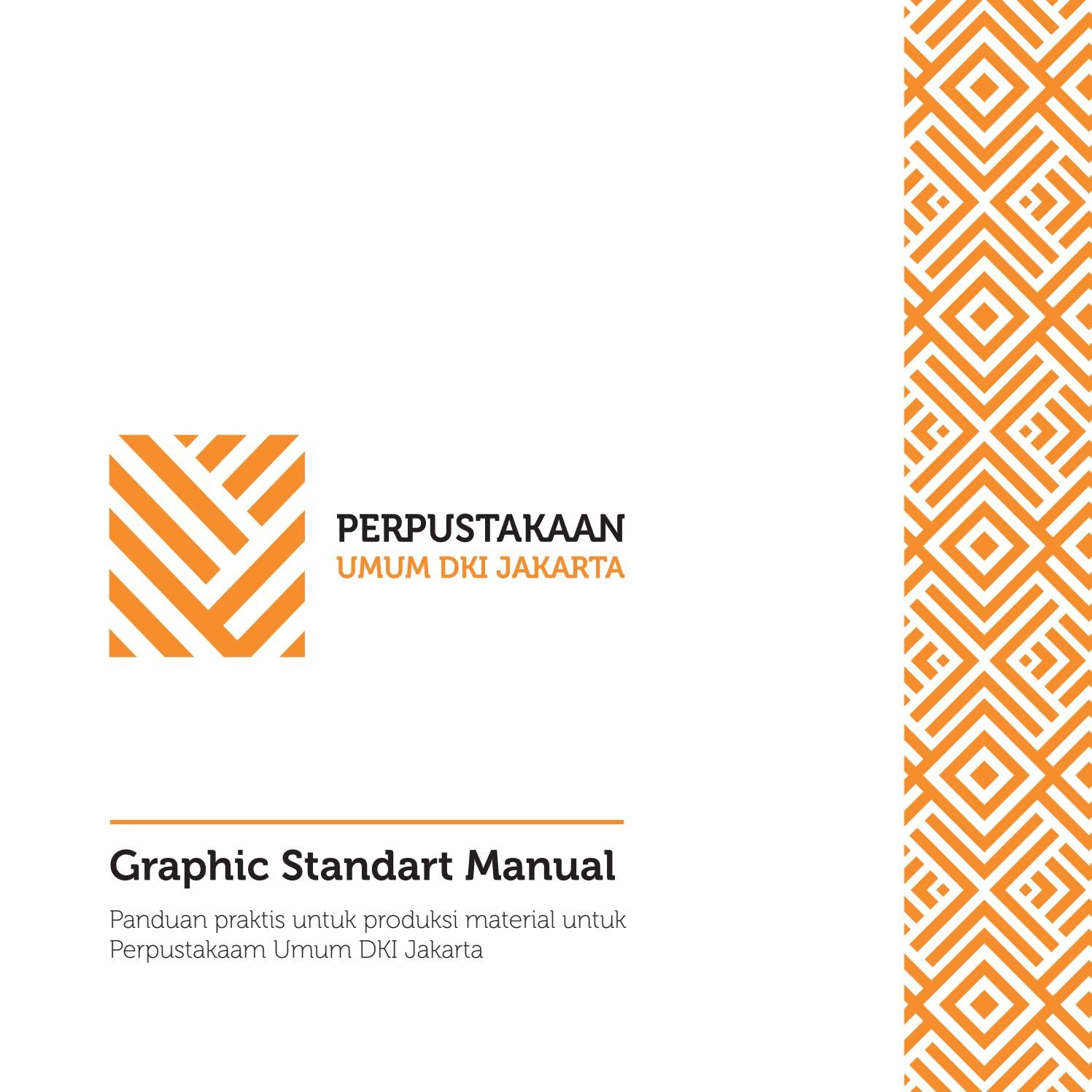 Graphic Standart Manual Jakarta Public Library by Iqbal Firdaus issuu