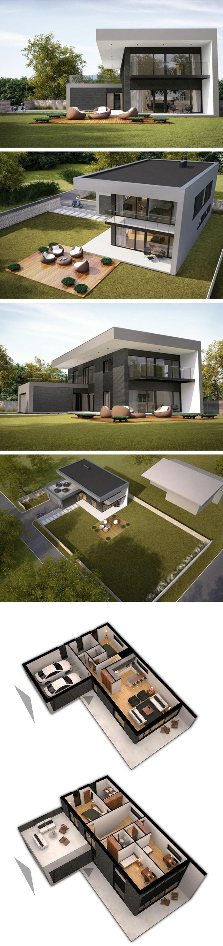 Modern house in vilnius by NG architects