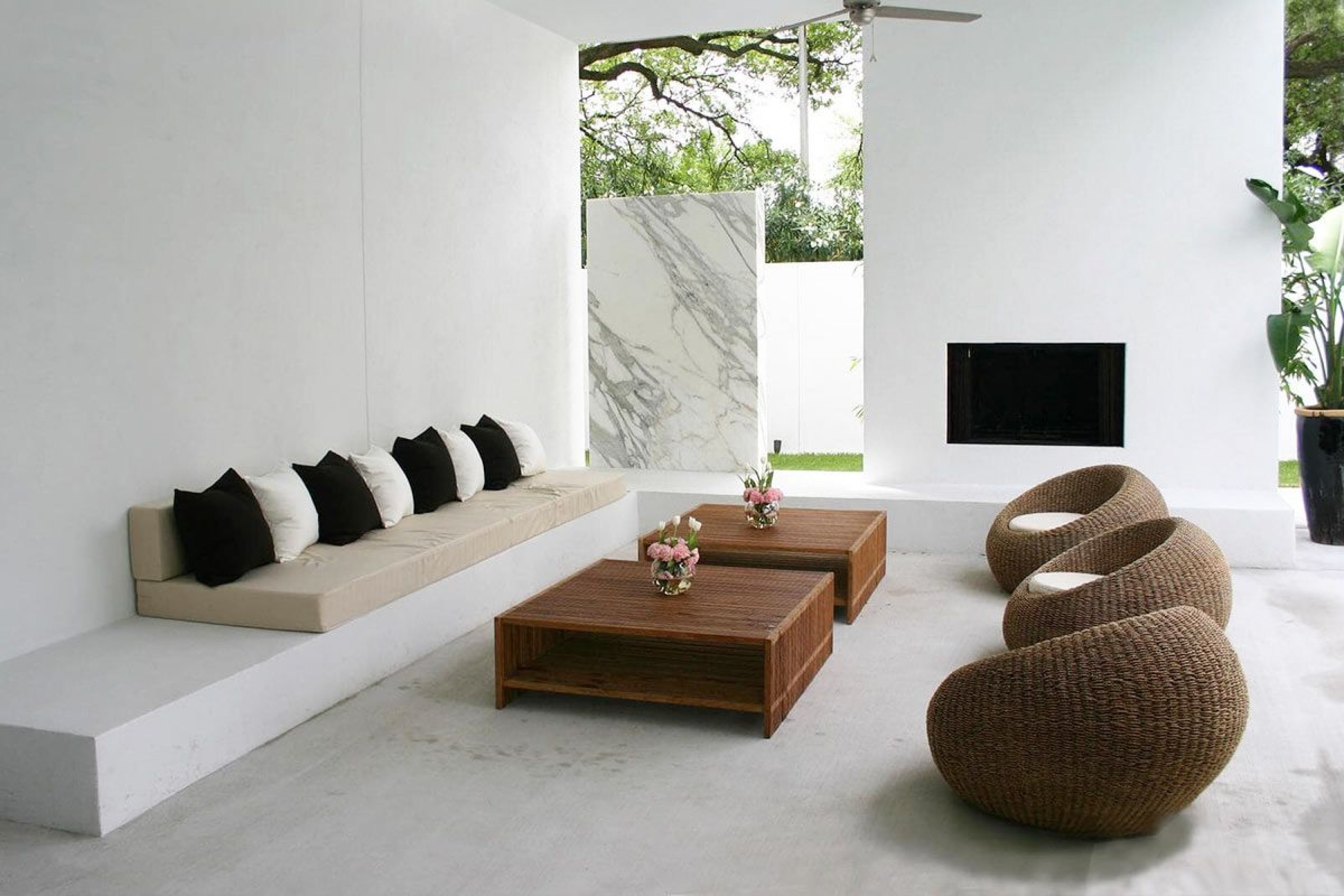 sumber pinterest Model interior minimalis