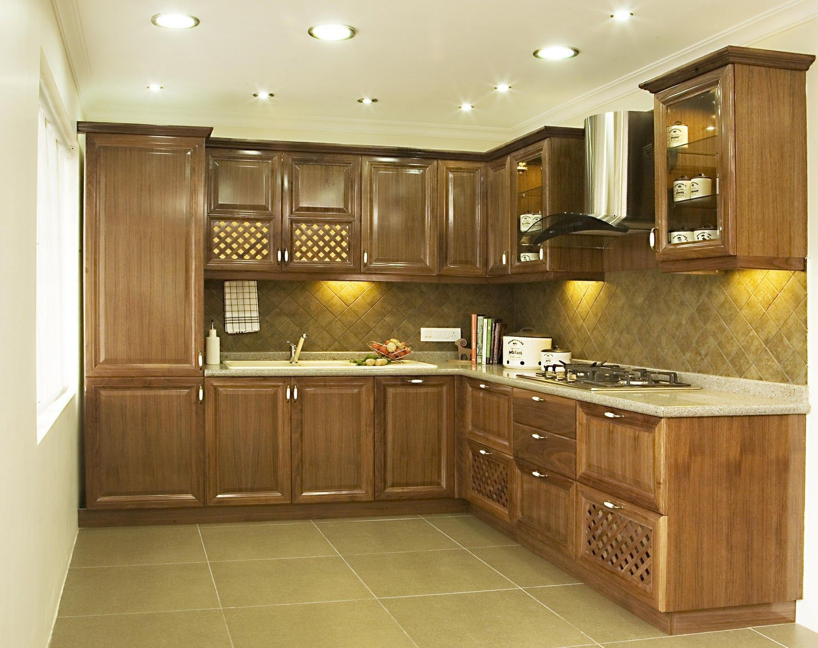 Some Smart Bud Oriented Home Renovation Ideas Simple Small Bud Kitchen Renovation Design Featuring Modular Wooden Kitchen Cabinets W