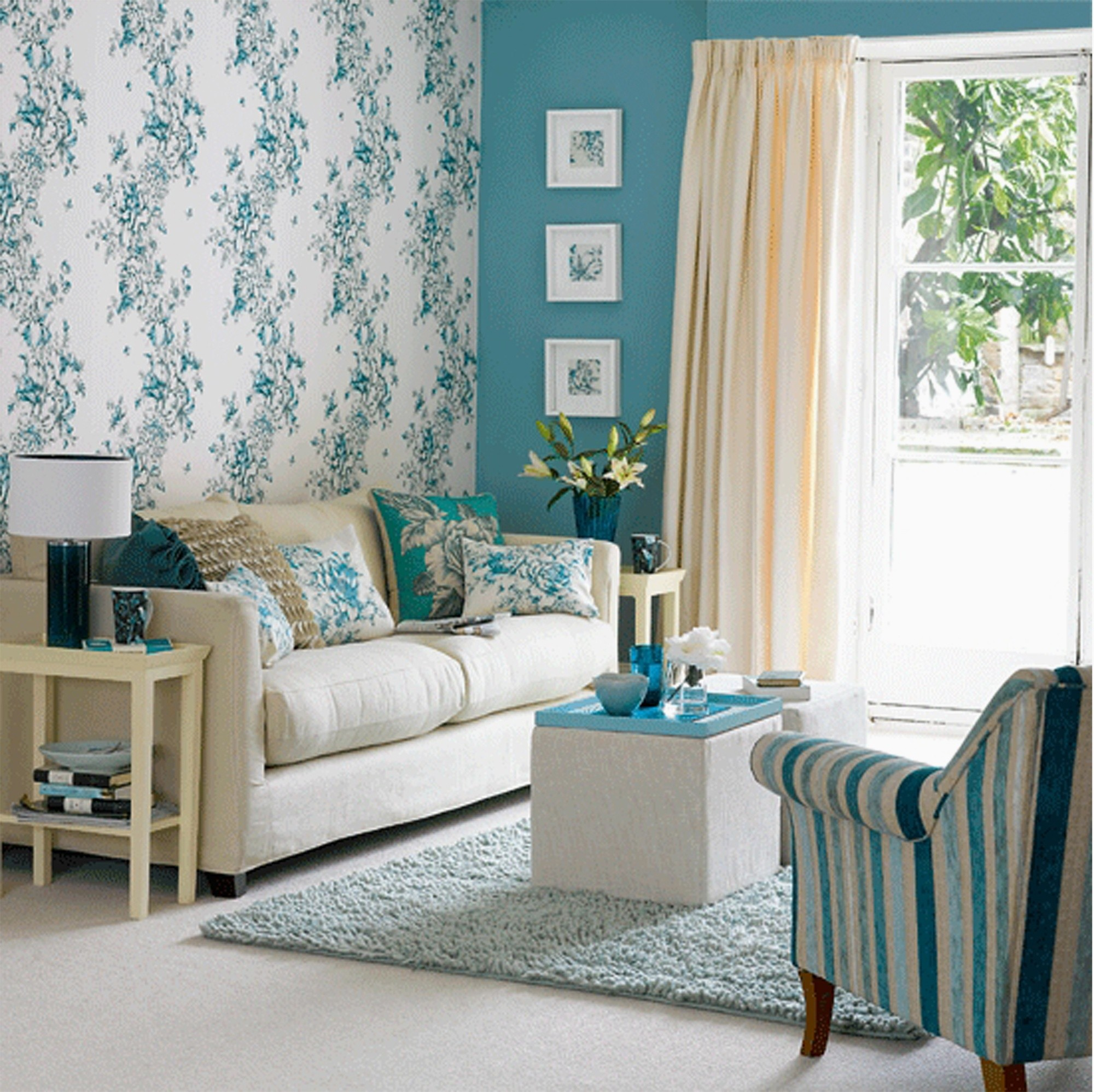 Full Size of can You Pass The Wallpaper Decoration For Living Room Retro Floral Wallpaper