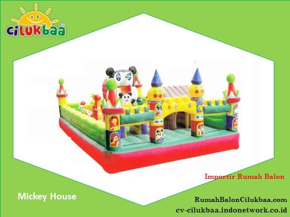 jual Istana Rumah Balon 5x8 - Mickey House - Jakarta