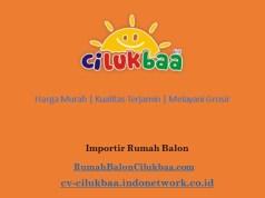 Rumah Balon Berasal dari mana, Jakarta, Surabaya, Bandung, Yogyakarta, Indonesia