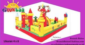 Jual Istana Rumah Balon | harga rumah balon bekas | CV. CILUKBAA