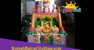jual istana balon murah - DragonBaby 4x6