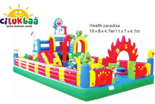 istana rumah balon cilukbaa health paradise