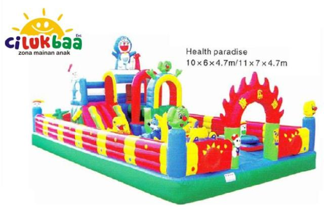 Istana Rumah Balon Health Paradise  6 x10 m