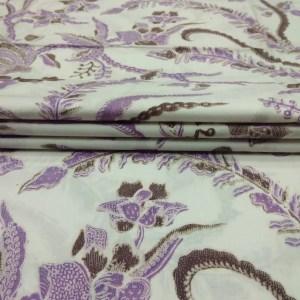 Kain Batik Katun Encim Putih Polos