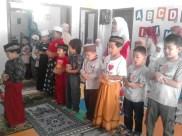 Kegiatan Belajar Sholat di Rumah Cerdas Islami (2)