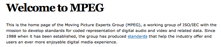 who is mpeg