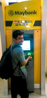 ATM Maybank di Larkin