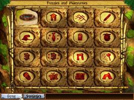 puzzle and milestones