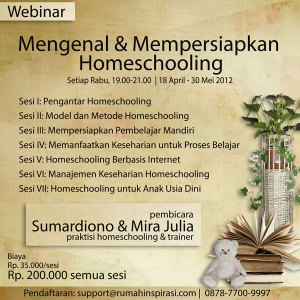 Webinar Homeschooling April Mei 2012