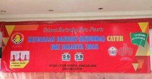 Kejuaraan Daerah Catur DKI Jakarta 2018