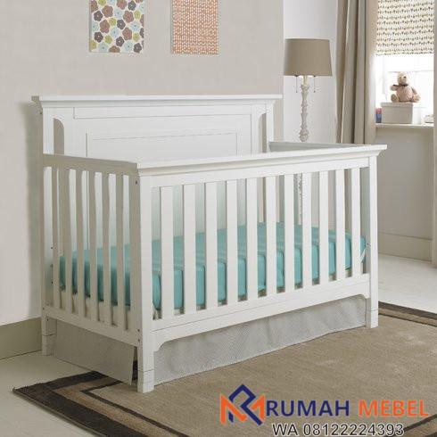 Ranjang Bayi Warna Putih