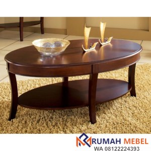 Meja Coffee Table Bundar