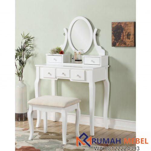 Meja Rias Warna Putih Minimalis