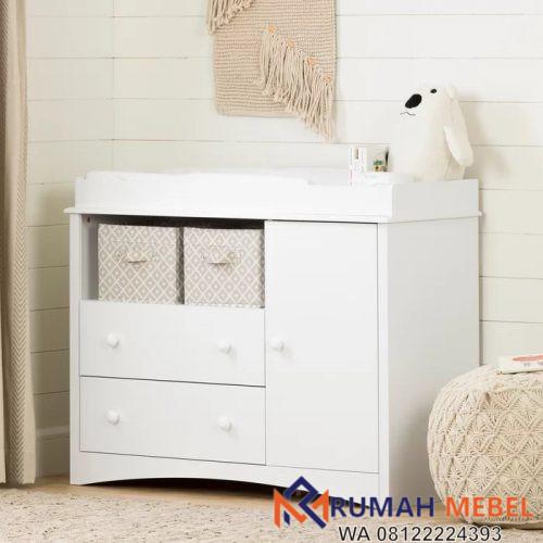 Baby Tafel Putih Minimalis