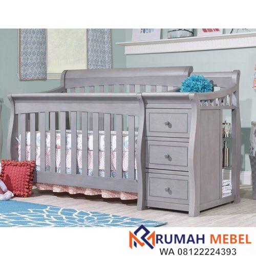 Tempat Tidur Bayi Princeton