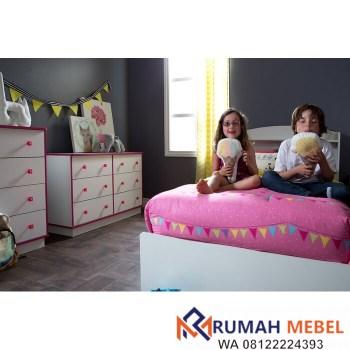 Lamari Bayi Logik 6 Laci Minimalis