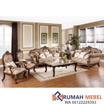 Set Kursi Sofa Mewah Peabody