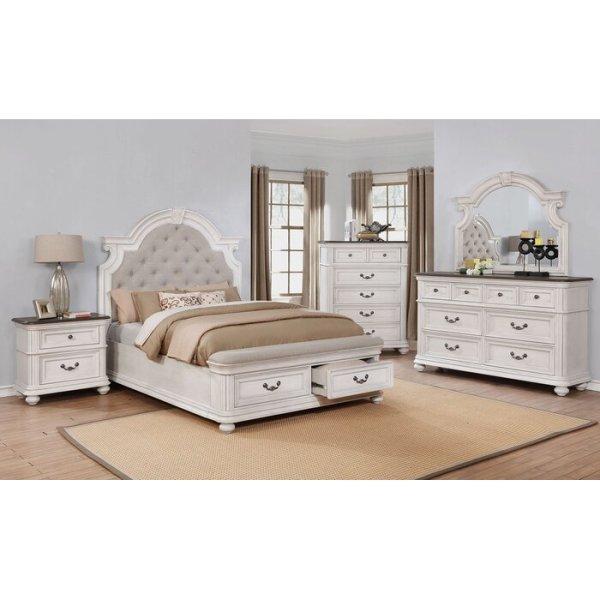 Kamar Set Minimalis Putih Alisa