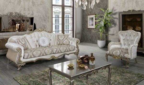 Sofa Ruang Tamu Mewah Luxury