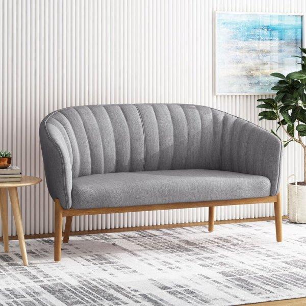 Kursi Sofa Modern 2 Dudukan Kerby