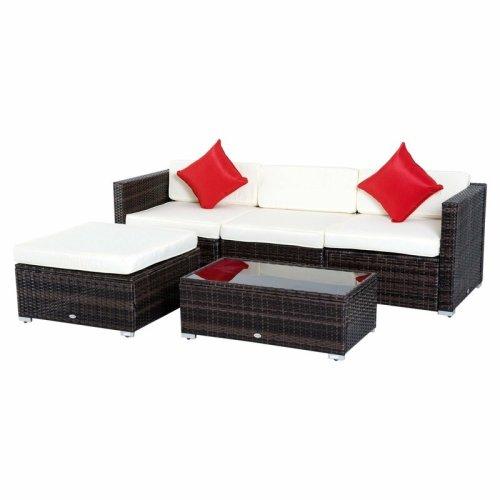 Sofa Rotan Minimalis Hazen
