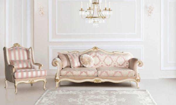 Sofa Set Mewah Klasik Cirefa