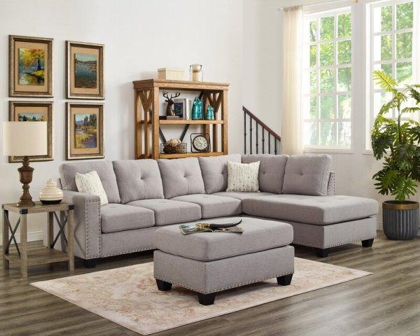 Sofa Sudut Minimalis Everleigh