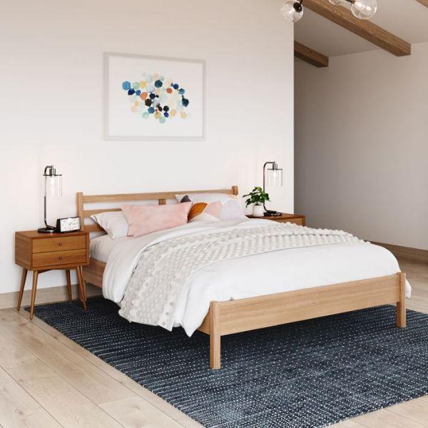 Tempat Tidur Kayu Minimalis Libby