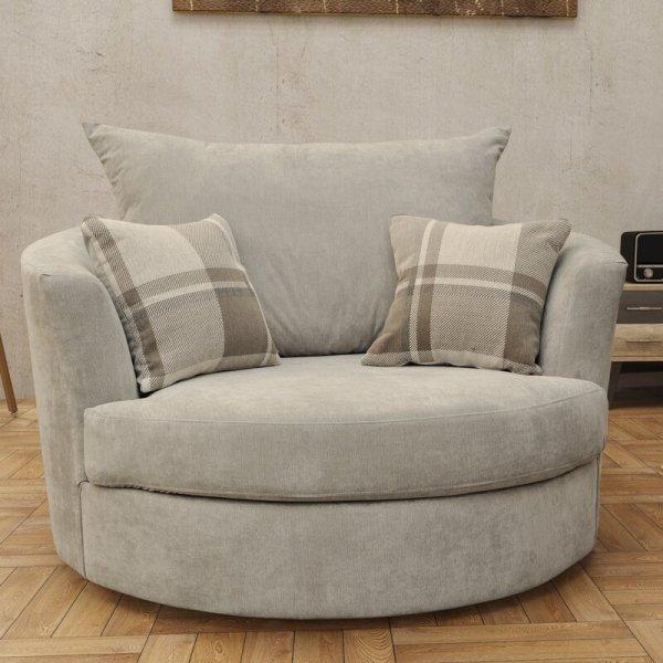 Kursi Sofa Ruang TV Alcrossagh Swivel