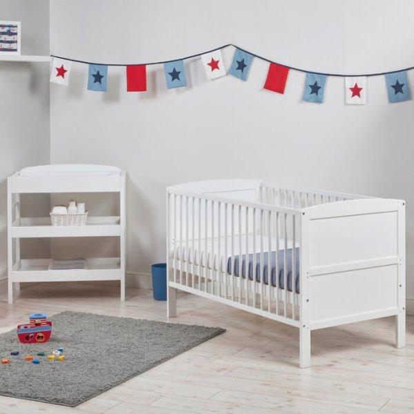 Set Tempat Tidur Bayi Minimalis Lotus