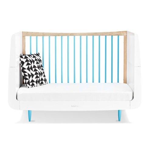 Set Tempat Tidur Bayi Minimalis Putih
