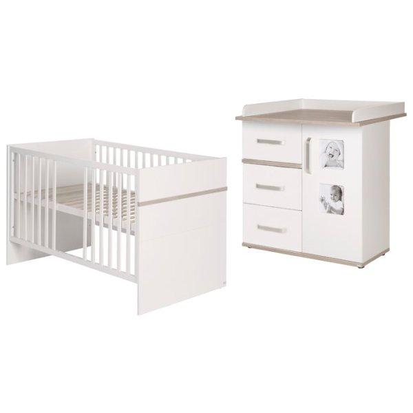 Set Tempat Tidur Bayi Modern Moritz