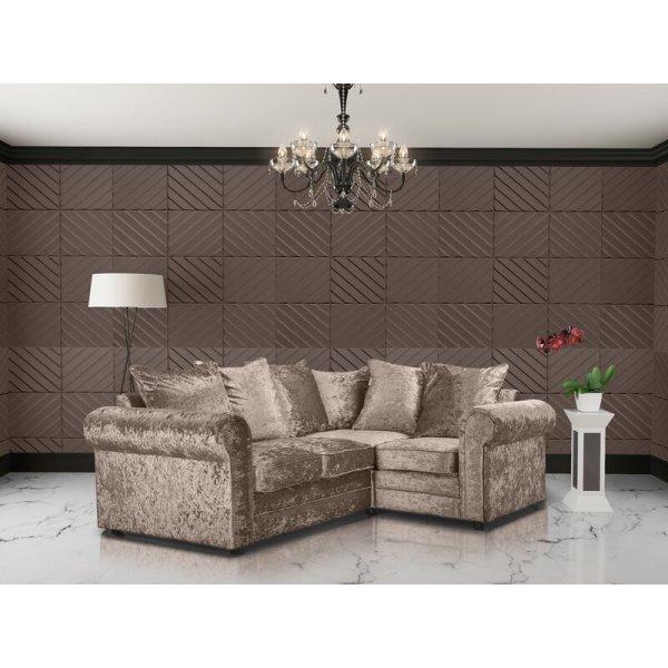 Kursi Sofa Sudut Klasik Ruang Tamu Mcneal