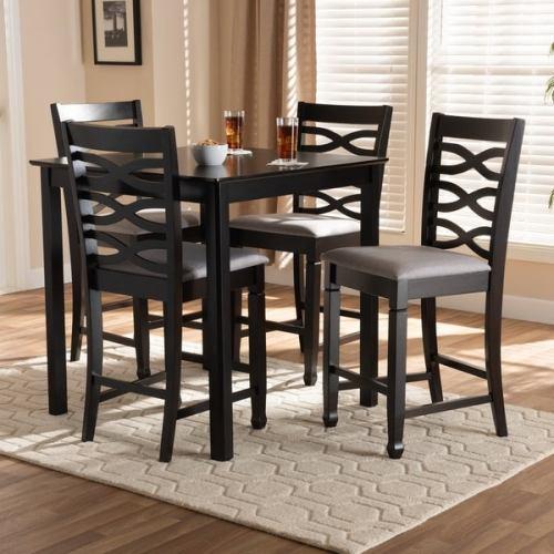 Set Meja Dan Kursi Bar Modern Upholstered
