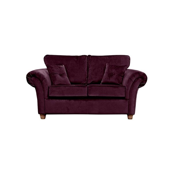 Sofa Minimalis Modern 2 Seater Lila