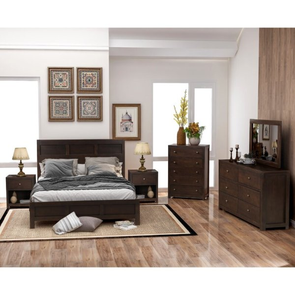 Tempat Tidur Satu Set Minimalis Chatham