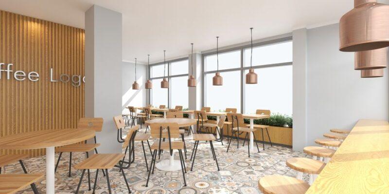 Desain Tempat Cafe Klasik