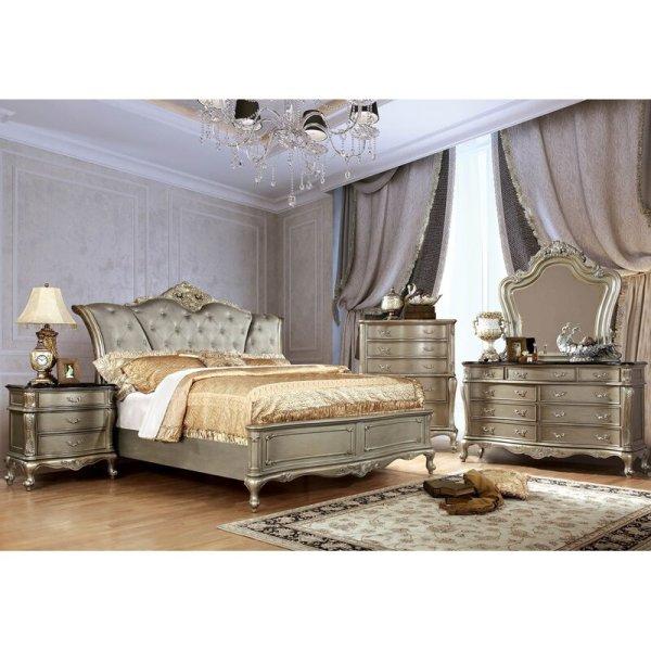 Satu Set Tempat Tidur Mewah Klasik Siloam